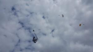 Manta und Lifter sind sich über die Flugrichtung nicht soooo einig!